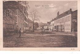 CPA SAINT-AVOLD (57) VORSTADTSTRASSE - Saint-Avold