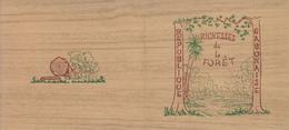 1967 Gabon Trees Forests Conservation Eco Booklet Carnet Complete  MNH - Gabon (1960-...)