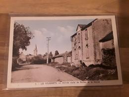 LES FOUGERETS - Arrivé Route De Peillac Et La Mairie - France