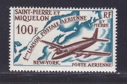 SAINT PIERRE ET MIQUELON AERIENS N°   31 ** MNH Neuf Sans Charnière, TB (D8524) Liaison Postale Aérienne -1964 - Luftpost