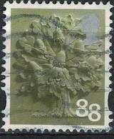 Royaume Uni 2013 Oblitéré Used Arbre Oak Tree Chêne 88 Penny SU - 1952-.... (Elizabeth II)