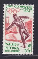WALLIS ET FUTUNA AERIENS N°   21 ** MNH Neuf Sans Charnière, TB (D8525) Jeux Olympiques De Tokyo -1964 - Poste Aérienne