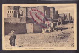 Q0619 - ATLAS MAROCAIN Casbah De Ouarzazat - Maroc - Marokko