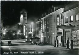 ASIAGO  VICENZA  Viale Trento Trieste  Notturno  Garage Valente  Pompe Di Benzina  Albergo  Vespa - Vicenza