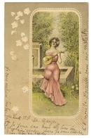 60 - Jeune Dame Dans Un Médaillon - Donne