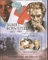 Mozambique  2011 Nobel Red Cross Croix Rouge Albert SCHWEITZER MNH - Prix Nobel