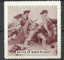 USA Battle Of White Plains Vignette - Cinderellas