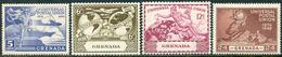 Grenada 1949. Michel #139/42 VF/MNH. 75 Years Universal Postal Union (UPU) (Ts15) - Grenada (...-1974)
