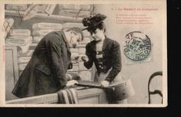 BERGERET-021.....le Martyr Du Comptoir - Bergeret