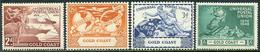 Gold Coast 1949. Michel #134/37 VF/MNH. 75 Years Universal Postal Union (UPU) (Ts15) - Gold Coast (...-1957)