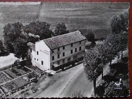 42 - FEURS -  Vue Aérienne - Chez La Mère Bonnefond Au Pont. (Hotel Restaurant) CPSM Rare - Feurs