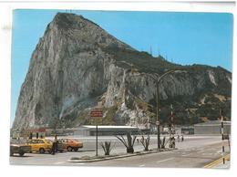 Gibilterra North View Of Rock From Airport Viaggiata Condizioni Come Da Scansione - Gibilterra