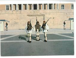 Grecia Euzoni Soldati Non Viaggiata Condizioni Come Da Scansione - Grecia