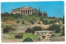 Grecia Athens The Theseions Viaggiata 1989 Condizioni Come Da Scansione - Grecia