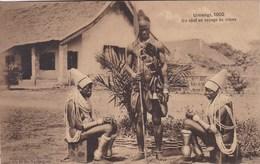 Congo Belge, Umangi 1902, Un Chef De Voyage De Noces,  (pk54886) - Missions