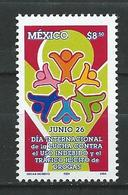 Mexico 2004 International Day Against Drug Abuse.Health.Drugs. MNH - Mexiko
