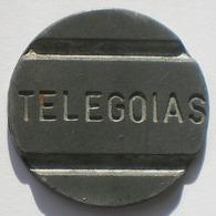Brasil Telephone Token  Telecomunicações De Goiás  TELEGOIAS - Monétaires / De Nécessité
