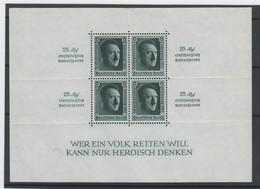 Deutsches Reich , Block 9 Postfrisch ( 320.-) - Deutschland