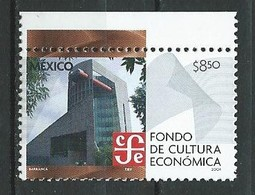Mexico 2004 Economic And Cultural Fund - CFE. MNH - Mexiko