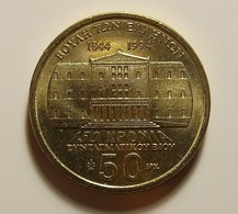 Greece 50 Drachmai 1994 Varnished - Griekenland