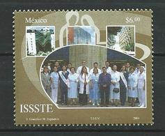 Mexico 2004 The 45th Anniversary Of Official Federal Social Fund - ISSSTE. MNH - Mexiko