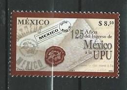 Mexico 2004 The 125th Anniversary Of Universal Postal Union Membership. MNH - Messico