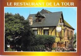 12 - LE BEC HELLOUIN : Le RESTAURANT De La TOUR  - Vallée De La Risle - CPSM CPM GF - Aveyron - France