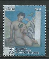 Mexico 2004 The 75th Anniversary Of Health Secretariat. MNH - Mexico