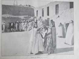 1910  AU Pays Des Touaregs     Méhariste Adjenam  Ahaggar  Tidi-kelt Danses De Femmes - Non Classés