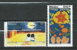 Mexico 2004 Christmas - Children's Paintings.fruit. Navidad. Noel. MNH - Messico