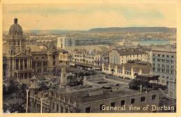 R179295 General View Of Durban. Newman Art - Cartes Postales