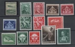 Deutsches Reich , Kleines Lot Postfrischer Marken ( 195.-) - Deutschland