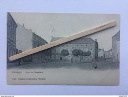 GENAPPE»PLACE DE L'EMPEREURE « Animée (1907)Édit Voglaire - Godecharles,Genappe. - Genappe