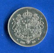 Suede  200  Kronor  1993  Arg  27  Gr   A  925/1000    Ttb  Sup - Suède