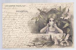 1901 - DES KINDES TAGESLAUF - FRÜHSTÜCK (petit Fille, Little Girl) - à Rotsart De Hertaing - Illustrateurs & Photographes