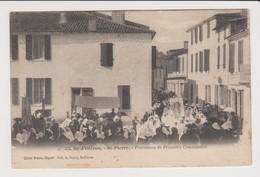 425  Ile D'Oléron; St Pierre. Procession De Première Communion - Ile D'Oléron