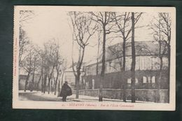 CPA - 51 - Sézanne  -  Rue De L'Ecole Communale - Sezanne