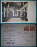 Cartolina Genazzano - Sagrestia Del Santuario - Basilica Di Genazzano - Padri Agostiniani. Viaggiata 1953 - Italia