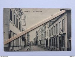 GENAPPE»RUE DE WAYS «Panorama,animée,commerce DECELLE (1908) . - Genappe