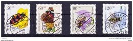 Duitsland 1984 Nr 1034/37 G, Zeer Mooi Lot Krt 3454 - Timbres