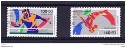 Duitsland 1989 Nr 1240/41 G, Zeer Mooi Lot Krt 3453 - [7] République Fédérale