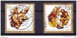 Duitsland 1989 Nr 1274/75 G, Zeer Mooi Lot Krt 3421 - [7] République Fédérale