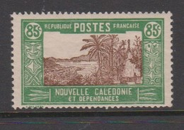New Caledonia SG 158 1928 Definitives  85c Brown And Green MNH - New Caledonia