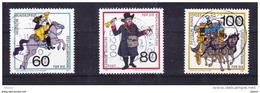 Duitsland 1989 Nr 1269/71 G, Zeer Mooi Lot Krt 3419 - Timbres