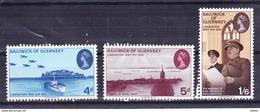 Guernsey 1970 Nr 23/25 **, Zeer Mooi Lot Krt 3410 - Guernesey
