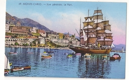 S7314 - Monte-Carlo - Vue Générale - Le Port - Monte-Carlo