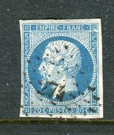 Superbe N° 14A Cachet PC 274 ( La Basse Indre ) - 1853-1860 Napoleon III
