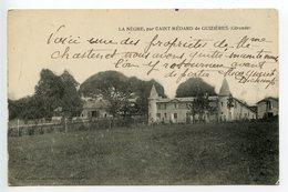 Le Nègre Par Saint Médard De Guizières - France