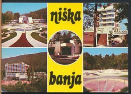 °°° 13170 - SERBIA - NISKA BANJA VIEWS - 1983 With Stamps °°° - Serbia