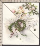 96789GF/ MARIAGE, Fleurs - Fêtes - Voeux